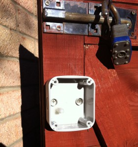 IP66 Enclosure Install On Gate 1