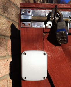 IP66 Enclosure Install On Gate 2
